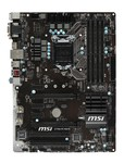 MSI Z170A PC MATE / Z170 / LGA 1151 / 4x DDR4 / 2x PCIEx16 / 3x PCIEx1 / 2x PCI / M.2 (Z170A PC MATE)
