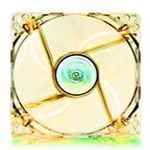 DEEPCOOL XFAN 120 L/Y CASE FAN / chlazení pro CASE / 120x120x25mm / žlutý (XFAN 120 L/Y)