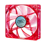 DEEPCOOL XFAN 120U R/R CASE FAN / chlazení pro CASE / 120x120x25mm / červený (XFAN 120U R/R)