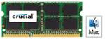 CRUCIAL 4GB / DDR3 SO-DIMM / 1066MHz / PC3-8500 / CL7 / 1.50V / pro Apple/Mac (CT4G3S1067MCEU)