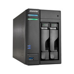 Asustor AS6102T / 2x HDD / Intel Celeron 1.6GHz Dual-Core / 2GB RAM / 2x USB 3.0 / 2x USB 2.0 / GLAN / HDMI / S/PDIF (AS6102T)