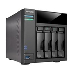 Asustor AS6104T / 4x HDD / Intel Celeron 1.6GHz Dual-Core / 2GB RAM / 2x USB 3.0 / 2x USB 2.0 / GLAN / HDMI / S/PDIF (AS6104T)
