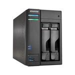 Asustor AS6202T / 2x HDD / Intel Celeron N3150 1.6GHz / 4GB RAM / 3x USB 3.0 / 2x USB 2.0 / 2x GLAN / HDMI (AS6202T)