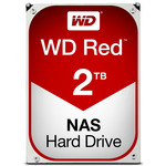 WD Red 2TB / HDD / 3.5 SATA III / 5 400 rpm / 64MB cache / 3y (WD20EFRX)