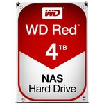WD Red 4TB / HDD / 3.5 SATA III / 5 400 rpm / 64MB cache / 3y (WD40EFRX)