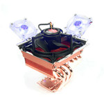 THERMALTAKE CL-P0343 MiniTyp 90 Value Pac / aktivní CPU chladič / 6x heatpipe / pro AMD a Intel / LGA 775, AM2, K8 (CL-P0343)