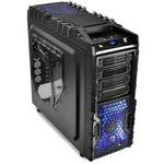 Thermaltake VN700M1W2N Overseer RX-I / midi tower / USB 3.0 / / bez zdroje / ATX / průhledná bočnice / černá (VN700M1W2N)