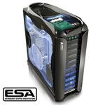 THERMALTAKE VH6001BWS ARMOR+ ESA / BigTower / Bez zdroje / průhledná bočnice / E-ATX, ATX / černá (VH6001BWS)