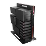 Thermaltake VL30001N1Z Level 10 / midi tower / USB 2.0 / bez zdroje / m-ATX, ATX / černá (VL30001N1Z)