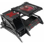 AEROCOOL Strike-X AIR Black / otevřená PC skříň / Bez zdroje / černá (ID073710)