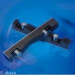 AKASA AK-HD-03BK / hliníkový chladič HDD / pasivní (AK-HD-03BK)
