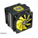 AKASA AK-CC4008HP01 Venom Voodoo / chladič CPU / pro Intel a AMD / 120mm fan (AK-CC4008HP01V2)
