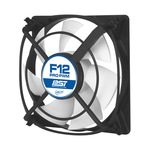 ARCTIC F12 PRO PWM PST / 120 mm / Fluid Dynamic Bearing / 0.5 Sone @ 1500 RPM / 91.7 m3h / 4-pin (AFACO-12PP0-GBA01)