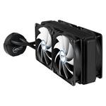 ARCTIC Liquid Freezer 240 / 4x 120 mm / Fluid Dynamic Bearing / 0.3 Sone @ 1350 RPM / Intel + AMD (ACFRE00013A)