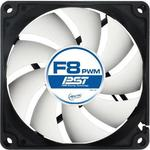 ARCTIC F8 PWM PST Value Pack / 5x 80 mm / Fluid Dynamic Bearing / 0.3 Sone @ 2000 RPM / 52.7 m3h / 4-pin (ACFAN00064A)