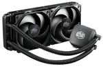 Cooler Master Nepton 240M / 2x 120 mm / Loop Dynamic Bearing / 27 dB @ 2400 RPM / 76 CFM / Intel + AMD (RL-N24M-24PK-R1)