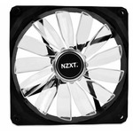 NZXT FZ 140 LED Red / 140mm / Long Life Bearing / 24.5dB @ 1000RPM / 83.6CFM / 3-pin (RF-FZ140-R1)