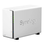 Synology DiskStation DS216se / 2x HDD / Marvell Armada 370 @800MHz / 256MB RAM / 2x USB 2.0 / 1x GLAN (DS216se)
