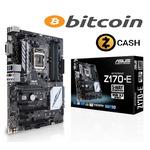 ASUS Z170-E / Z170 / LGA 1151 / 4x DDR4 / 3x PCIEx16 / 3x PCIEx1 / M.2 (90MB0P60-M0EAY0)
