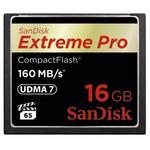 SanDisk CF 16 GB Extreme Pro / 160MB/s / VPG65 / UDMA7 (123842)