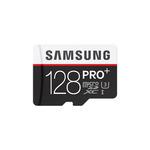 SAMSUNG micro SDXC 128GB PRO Plus + SD adaptér / UHS-1 / Class 10 / U3 / Čtení: 95MBps / Zápis: 90MBps (MB-MD128DA/EU)