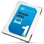 Seagate Mobile HDD 1TB / 2.5 / 5400 ot. / 128MB cache / SATA III / 7mm / Interní (ST1000LM035)