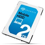 Seagate Mobile HDD 2TB / 2.5 / 5400 ot. / 128MB cache / SATA III / 7mm / Interní (ST2000LM007)