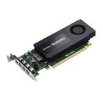 HP Quadro K1200 / nVidia Quadro K1200 / 4GB GDDR5 / PCIe 2.0 / 4x mDP / Low profile (T7T59AA)
