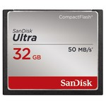 SanDisk Compact Flash Ultra 32GB / rychlost až 50MB/s (SDCFHS-032G-G46)