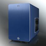 RAIJINTEK STYX Window / Micro-ATX / 2x USB 3.0 / 120mm / průhledná bočnice / Modrá (0R200028)