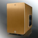 RAIJINTEK STYX Window / Micro-ATX / 2x USB 3.0 / 120mm / průhledná bočnice / Zlatá (0R200029)