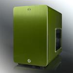 RAIJINTEK STYX Window / Micro-ATX / 2x USB 3.0 / 120mm / průhledná bočnice / Zelená (0R200030)