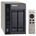 QNAP TS-253A-8G / Intel Celeron N3150 1.6 GHz / 8GB DDR3L RAM / 2x 3.5 SATA / USB 3.0 / HDMI / GLAN (TS-253A-8G)