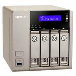 QNAP TVS-463-4G / AMD x86 2.4GHz / 4GB RAM / 4x 3.5 SATA III / 5x USB 3.0 / 2x HDMI / 2x GLAN / 1x PCIe (TVS-463-4G)