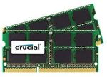 CRUCIAL 4GB / DDR3 SO-DIMM / 1333MHz / PC3-10600 / CL9 / 1.35V/1.50V Dual Voltage (CT2C2G3S1339MCEU)