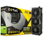ZOTAC GeForce GTX 1080 AMP Extreme / 1771-1911MHz / 8GB D5X 10.8GHz / 256-bit / DVI, HDMI, 3x DP / 225W (8) (ZT-P10800B-10P)