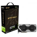 Palit GeForce GTX 1070 JetStream / 1506-1683MHz / 8GB D5 8GHz / 256-bit / DVI + HDMI + 3x DP / 225W (8) (NE51070015P2J)