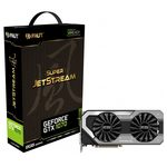 Palit GeForce GTX 1070 Super JetStream / 1632-1835MHz / 8GB D5 8GHz / 256-bit / DVI + HDMI + 3x DP / 225W (8) (NE51070S15P2J)