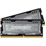CRUCIAL Ballistix Sport LT 16GB(2x8GB) / DDR4 / SO-DIMM / 2400MHz / CL16 / 1.2V / Dual Ranked x8 / XMP (BLS2C8G4S240FSD)