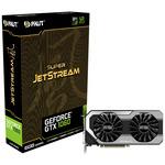 Palit GeForce GTX 1060 Super JetStream / 1620-1847MHz / 6GB D5 8GHz / 192-bit / DVI + HDMI + 3x DP / 225W (8) (NE51060S15J9J)