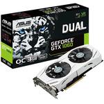 ASUS DUAL-GTX1060-O3G / 1569-1809MHz / 3GB D5 8GHz / 192-bit / DVI, 2x HDMI, 2x DP / 150W (6) (90YV09X3-M0NA00)