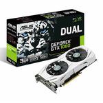 ASUS DUAL-GTX1060-3G / 1506-1708MHz / 3GB D5 8GHz / 192-bit / DVI, 2x HDMI, 2x DP / 150W (6) (90YV09X5-M0NA00)