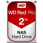 WD Red Pro 2TB / HDD / 3.5 SATA III / 7 200 rpm / 64MB cache / 5y (WD2002FFSX)