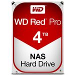 WD Red Pro 4TB / HDD / 3.5 SATA III / 7 200 rpm / 128MB cache / 5y (WD4002FFWX)