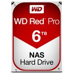 WD Red Pro 6TB / HDD / 3.5 SATA III / 7 200 rpm / 128MB cache / 5y (WD6002FFWX)