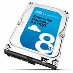 Seagate Enterprise NAS HDD 8TB / HDD / 3.5 SATA III / 7 200 rpm / 256MB cache / 5y / výprodej (ST8000NM0055)