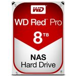 WD Red Pro 8TB / HDD / 3.5 SATA III / 7 200 rpm / 128MB cache / 5y (WD8001FFWX)