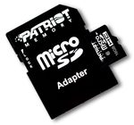 Patriot 16GB Micro SDHC / Class 10 / adaptér (PSF16GMCSDHC10)