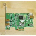 Kouwell PE-101/ PCI Express FireWire řadič / TI chipset / 2x 1394a / Pouze karta (PE-101)