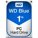 ROZBALENO-WD Blue 1TB / HDD / 3.5 SATA III / 7 200 rpm / 64MB cache / 2y / výprodej (WD10EZEX)